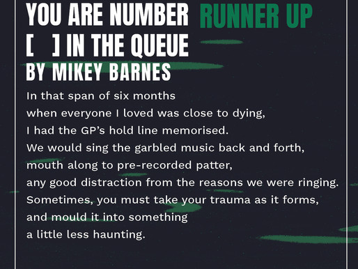Telephone Voices: 'You are number [    ] in the queue'