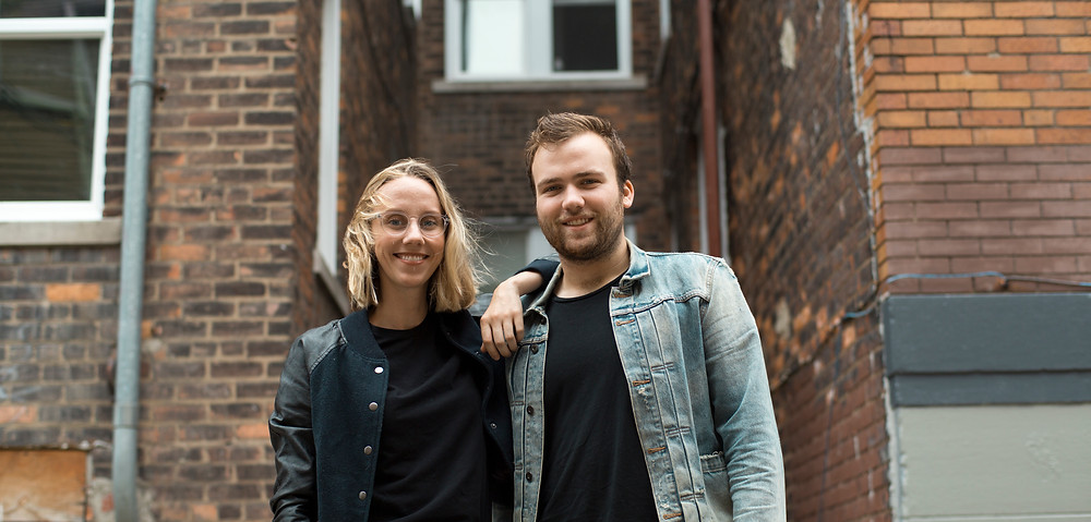 Pictured: Nick Haynes and Naomi Burton, cofounders of Means TV