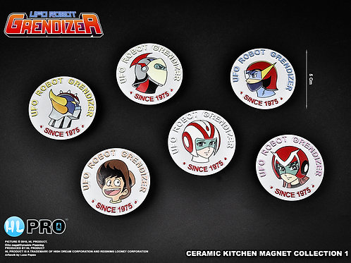 UFO ROBOT GRENDIZER magnets
