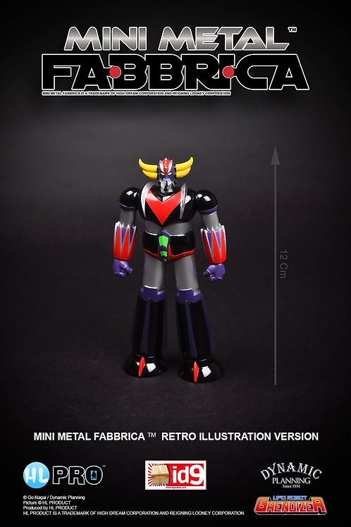 GRENDIZER MM FABBRICA Retro illustration (outlet)
