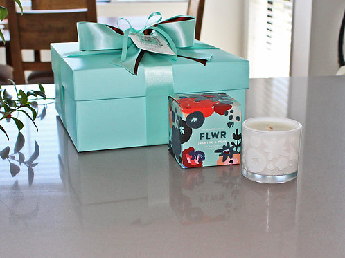 Jasmine and Pear scented soy wax candle by Aromatherapy Company NZ