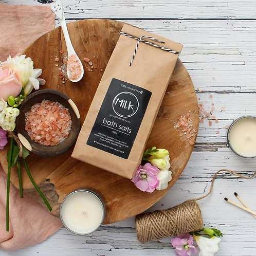 Relaxing Bath Salts to add to your customised gift hamper, Auckland gift hampers