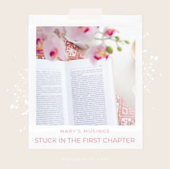 Stuck in the First Chapter.