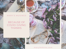 Because of COVID: Giving Thanks