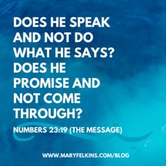 When God Promises…