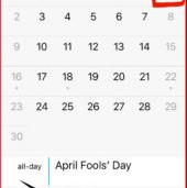 April 1st @ 2:00.