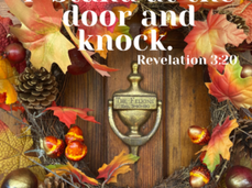 Thankful for Incessant Knocking.
