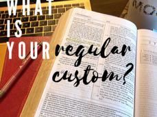 My Regular Custom.