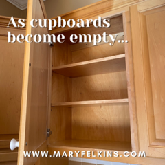 What Empty Cupboards Have Taught My Heart