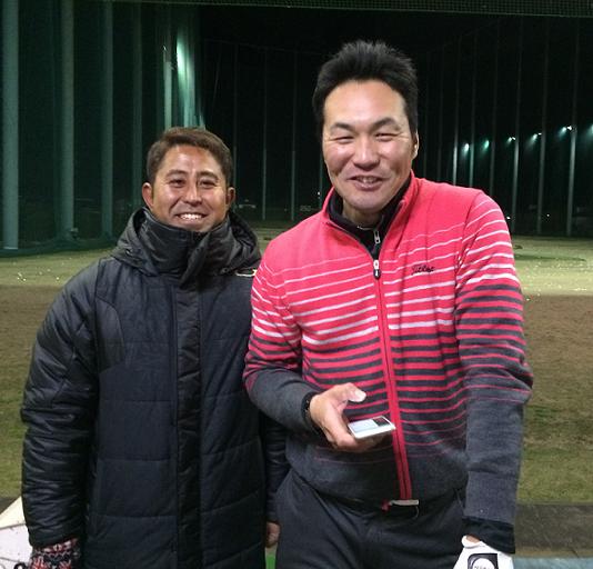 カズマさんとコーチ