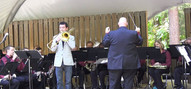 Solo Performance w/Triangle Brass Band