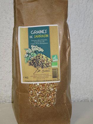 Graines de sarrasin BIO 1 Kg