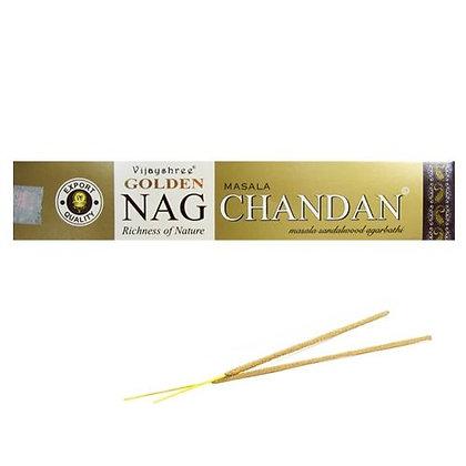 "Encens naturel Golden Nag ""Chandan"""