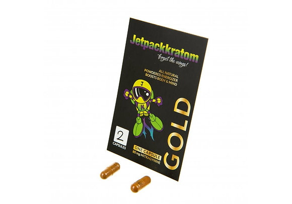 Kratom Exosphère Gold (2 gélules)