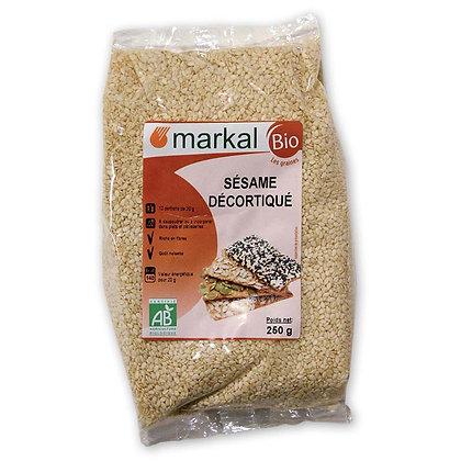 Graines de sésame bio décortiquées Markal Nantes 44300