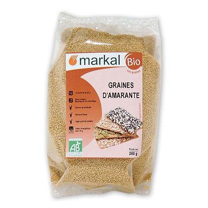 Graines d'amarante bio Markal Nantes 44300