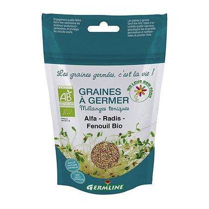 Mélange de graines Alfa-Radis-Fenouil à germer