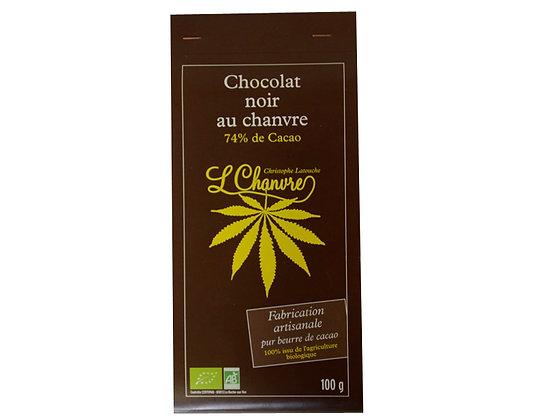 Chocolat aux garines de chanvre Bio