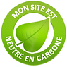 Site web neutre en carbone