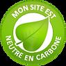 Site web neutre en carbone
