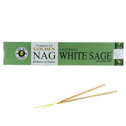 """Encens naturels Golden Nag """"White sage"""""""