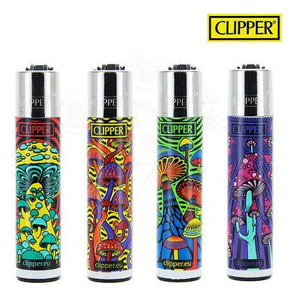 "Lot de 4 Clipper Série ""Space mushroom"""