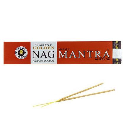 """Encens naturels Golden Nag """"Mantra"""""""