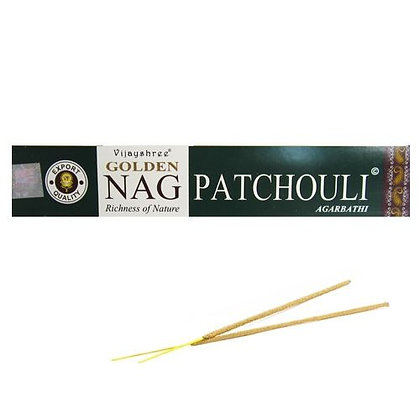 "Encens naturel Golden Nag ""Patchouli"""