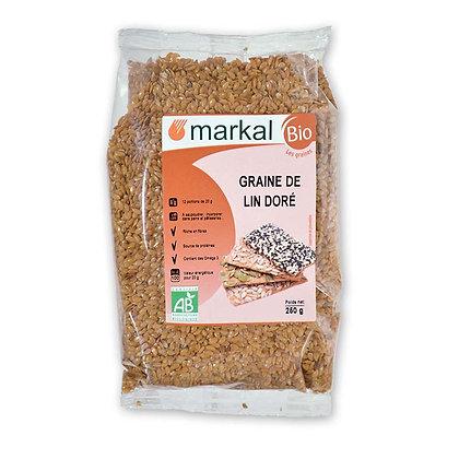 Graines de lin doré Bio Markal Nantes 44300