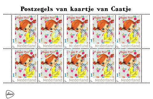 Postzegelvel 5