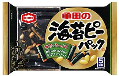 [60%OFF] Nori P Pack (Rice cracker and peanuts) 89g