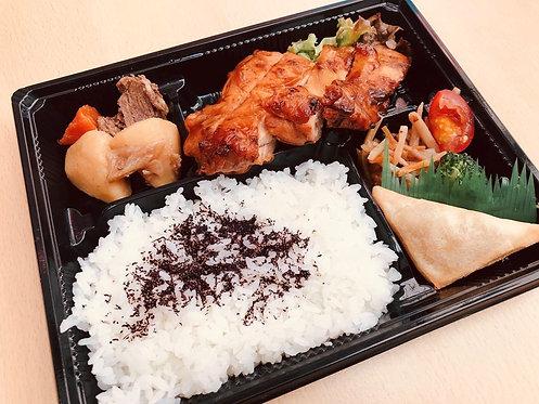 Bento for dinner | Teriyaki chicken