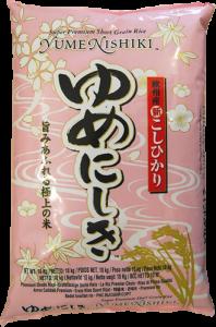 YUMENISHIKI   Premium rice 10kgs