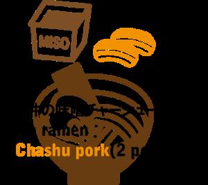 Ishii's Frozen ramen | Miso Chashu Pork for 2