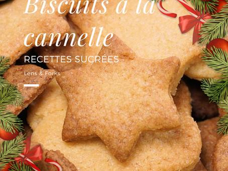Recette de biscuits à la cannelle