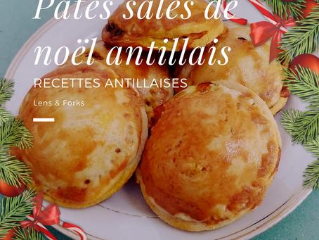 Recette des pâtés salés Antillais