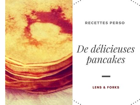 De délicieuses pancakes !