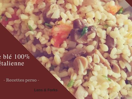 Salade de blé 100% végétalienne