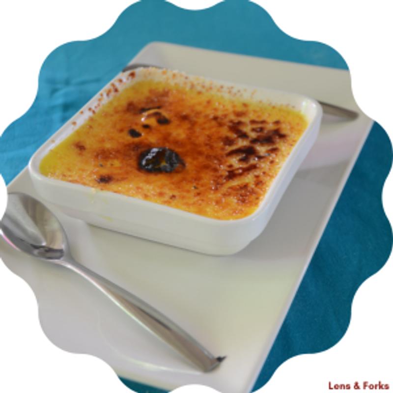 Crème brûlée curcuma