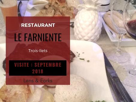 Restaurant Le Farniente