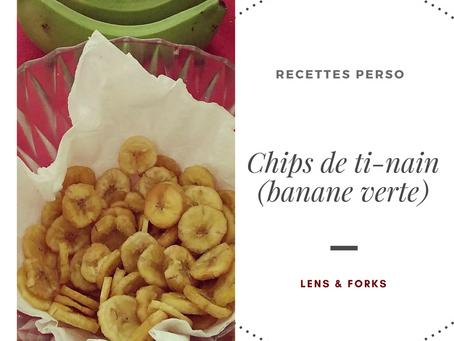 Chips de banane verte (ti-nain)