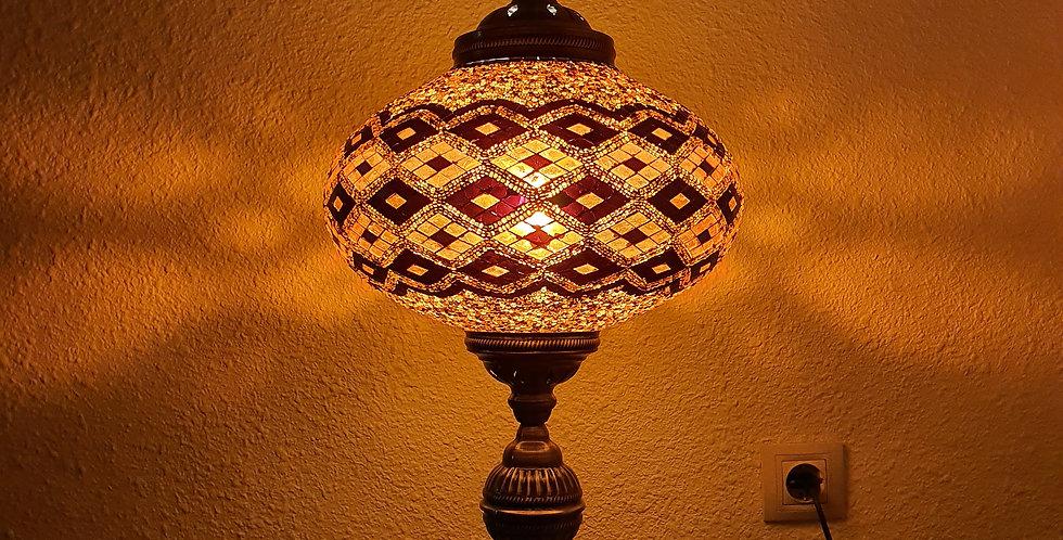 Lámpara turca de mesa, globo 30 cm
