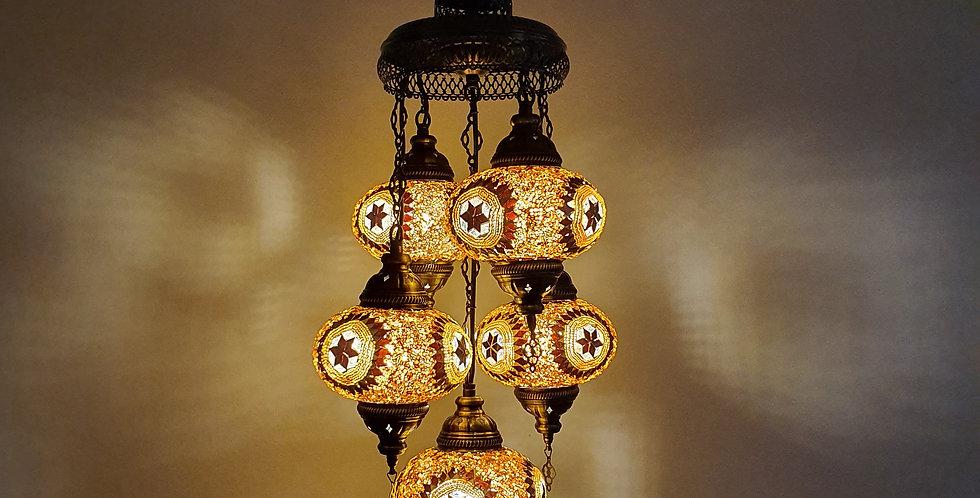 Lámpara turca de techo - globos de 16cm