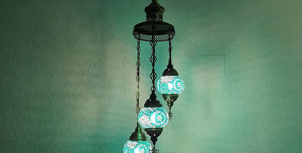 Lámpara turca de techo - globos de 13 cm