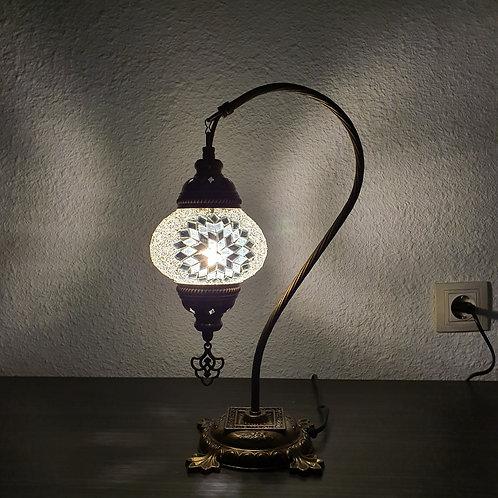 Lámpara turca de mesa con arco, tamaño 2