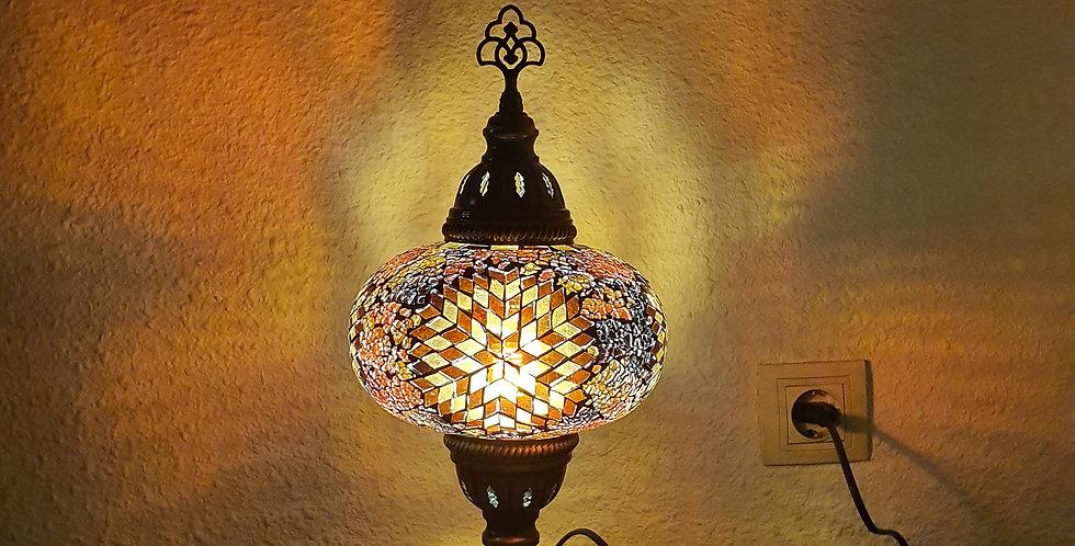 Lámpara turca de mesa, globo 17 cm