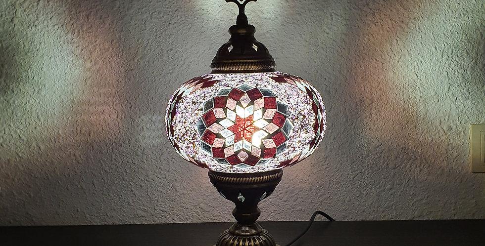 Lámpara turca de mesa, globo 18 cm