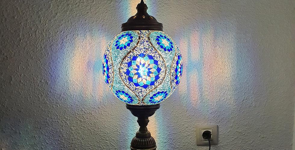 Lámpara turca de mesa, globo 25 cm