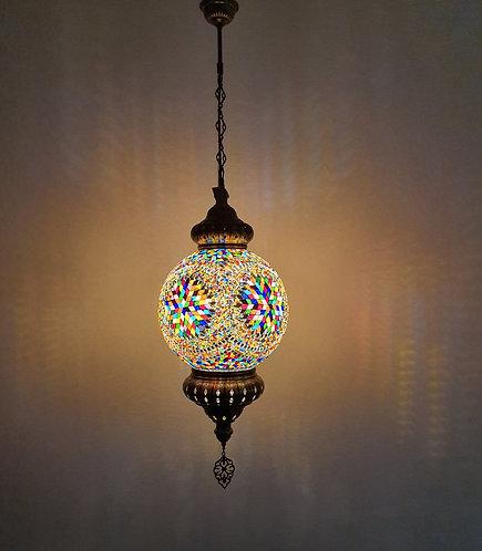 Lámpara árabe de techo tamaño 6