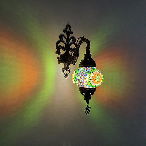 Lámpara árabe de pared tamaño 3